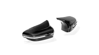 Akrapovic Carbon Fiber Mirror Cap Covers - High Gloss