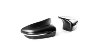 Akrapovic Carbon Fiber Mirror Cap Covers - Matte Carbon