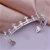 Sterling Silver Fashion Crown Bangle, Silver Bangle, Fashion Bangle, Crown Bangle