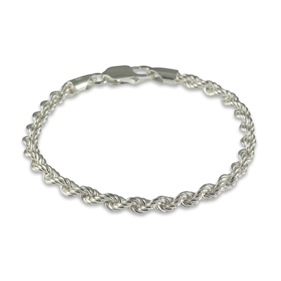 Sterling Silver Twisted Multi-Strand Bracelet, Silver Twisted Bracelet, Fashion Bracelet, Twisted  Chain Bracelet
