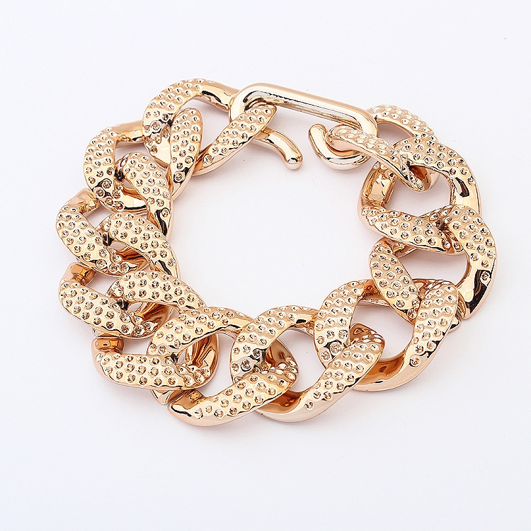 Lightweight Gold Color Chain Bracelet Fashion Gold Chain Bracelet Gold Chain Link Bracelet Gold Bracelet With