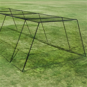 BCI 70'x14'x10' Trapezoid Batting Cage #32 Net and Frame