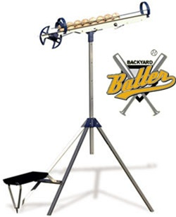 Backyard Batter Soft Toss Machine Sport And Pro Models - Backyard batter