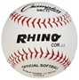 "Champion RHINO 11"" White Syntex Fastpitch Softballs - Dozen"