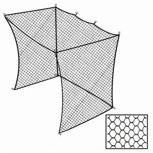 Cimarron 10x14x12 Golf Net Insert For Batting Cages