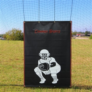 Cimarron 4x6 Vinyl Backstop with Catcher