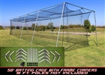 Cimarron 50x12x10 Frame Corner Kit with Net