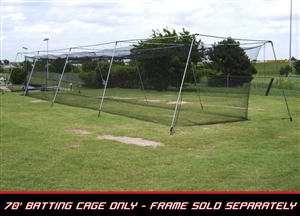 Cimarron 70x14x12 #36 Twisted Poly Batting Cage Netting