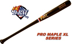 D-Bat Pro Maple XL Series Wood Bats