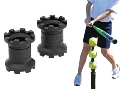 Tee Stackers Batting Tee Attachment  (Set of 2)