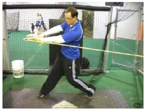 The Drive Developer Resistance Band Swing Trainer