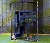 Machine Guard for Iron Mike Pitching Machine