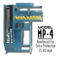 Iron Mike MP4 Hopper Fed Pitching Machine