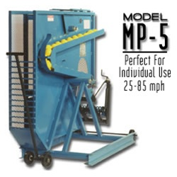 Iron Mike MP5 Rack Fed Pitching Machine