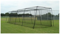 Muhl #36 Braided Poly Batting Cage Netting - 40' to 70'
