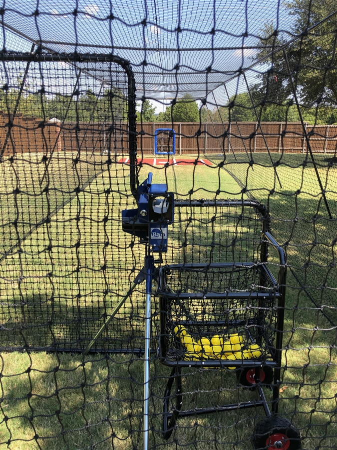 Batting Cage Frame With Net HittingWorldcom - Backyard batting cages for sale