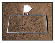ProMounds Adjustable Batter's Box Template