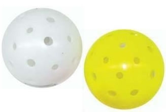 GSE Games /& Sports Expert 12-Pack of Plastic Practice Baseballs Several Colors Available Indoor Pickleballs