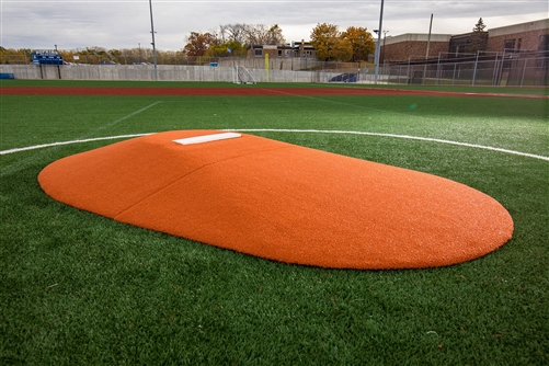 "Portolite 8125 8"" Two-Piece Game Pitching Mound"