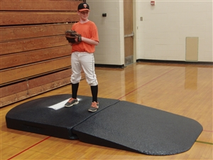 Portolite Indoor Full Wind Up Practice Pitching Mound