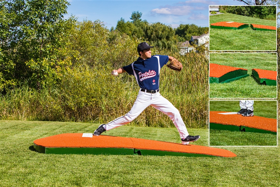 how to build a lightweight portable pitching mound