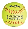 "Pro Nine ASA 11"" Fastpitch Softballs - Dozen"