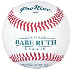 Pro Nine BRL Babe Ruth League Official Tournament Baseballs - Dozen