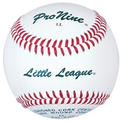 Pro Nine LL Little League Official Tournament Baseballs - Dozen