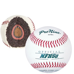 Pro Nine NFHS Official Game Baseballs - Dozen