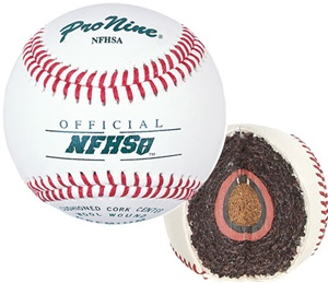 Pro Nine NFHSA Official Game Baseballs - Dozen