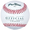Pro Nine OL2 Official League Youth Baseballs - Dozen
