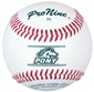 Pro Nine PL Pony League Official Tournament Baseballs - Dozen