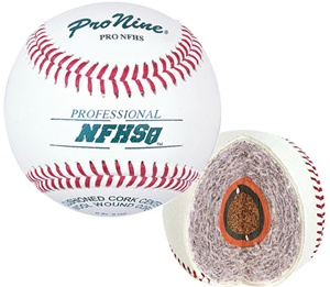 Pro Nine PRO NFHS Official Game Baseballs - Dozen