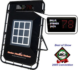 Pro Radar Pitching Trainer, Pitching Target & Virtual Umpire