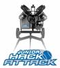 JUNIOR HACK ATTACK 3-Wheel Baseball Pitching Machine