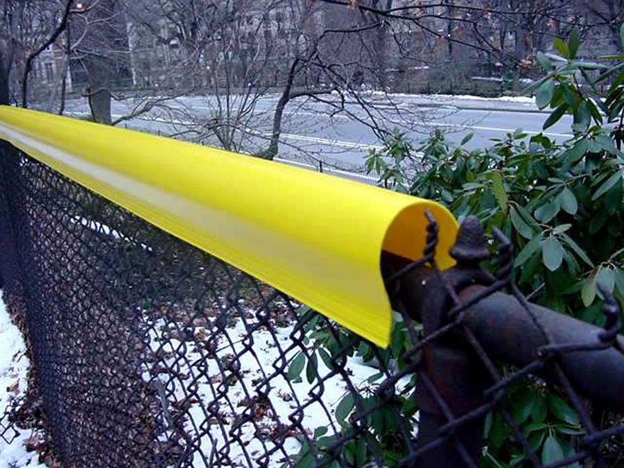 Fencetopper Chain Link Fence Cap For Baseball Fields Hittingworld Com