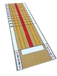 StrideRight 3' x 10' Pitching Mat w/ Rubber