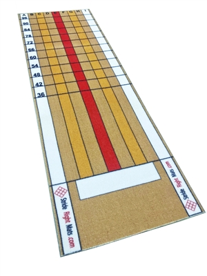 StrideRight 4' x 10' Pitching Mat w/ Rubber