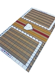 StrideRight 6' x 10.5' Pro Grade Turf Hitting Mat