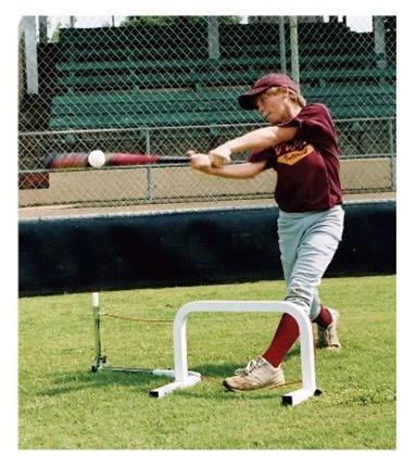 Swingbuster Hands Back Hitter Baseball Hitting Aid