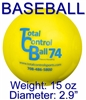 TCB Total Control BASEBALL Weighted Batting Balls