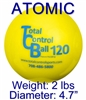 TCB Total Control ATOMIC Weighted Batting Balls