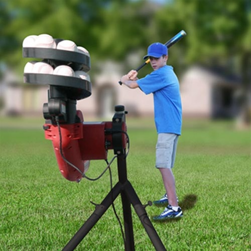 Heater Base Hit Pitching Machine Hittingworld Com
