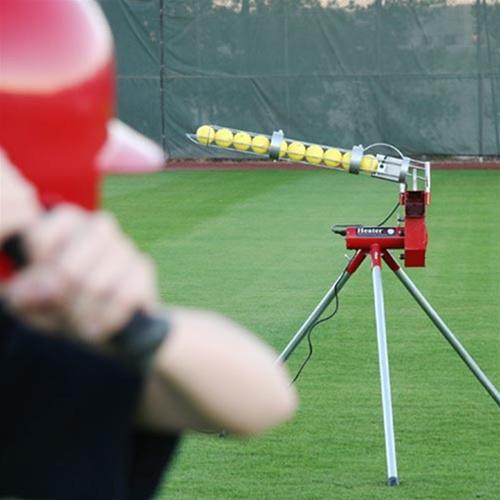Heater Baseball Pitching Machine Hittingworld Com