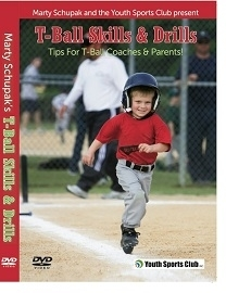 Tee Ball Skills & Drills DVD