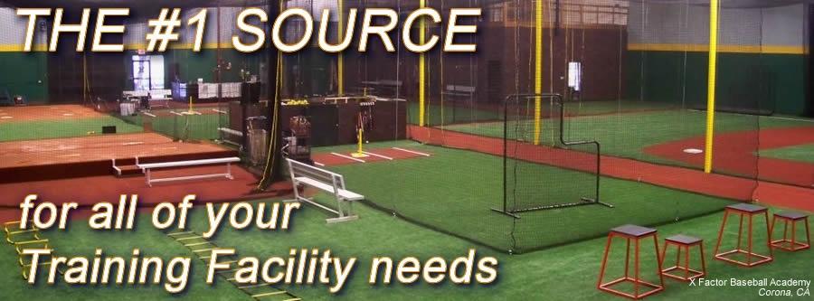 Baseball Softball Equipment For Indoor Training Facilities