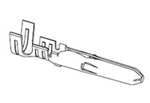 PIN MALE - MOLEX .062 SERIES - 24-18AWG