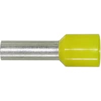 11121060; FERRULE YELLOW 10AWG