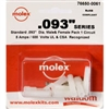 MOLEX KIT    .093 1 CIR; 1619PRT