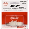 MOLEX KIT    .062 12 CIR; 1625-12PRT